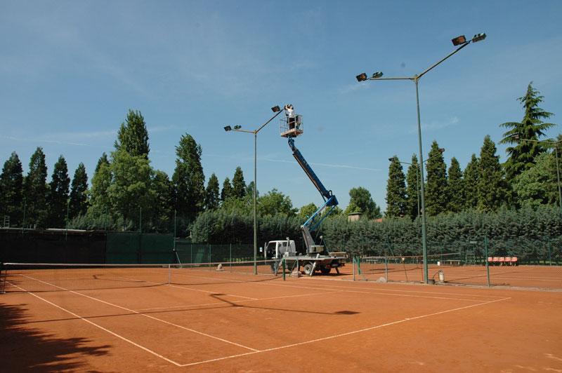 campi da tennis Polisportiva Pontelungo Bologna