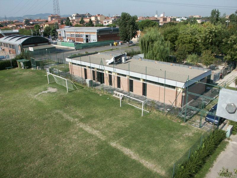 Polisportiva Pontelungo Bologna entrata al centro sportivo di tennis
