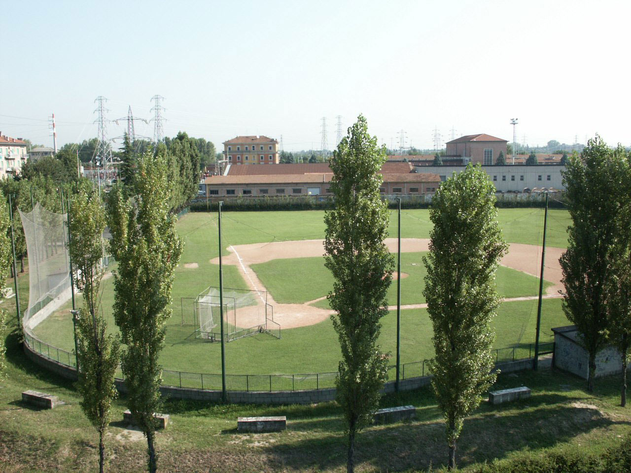 Impianti baseball Polisportiva Pontelungo Bologna
