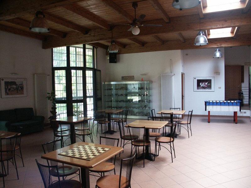 Sala Centro sociale e Impianti Sportivi tennis beach volley Polisportiva Pontelungo Bologna