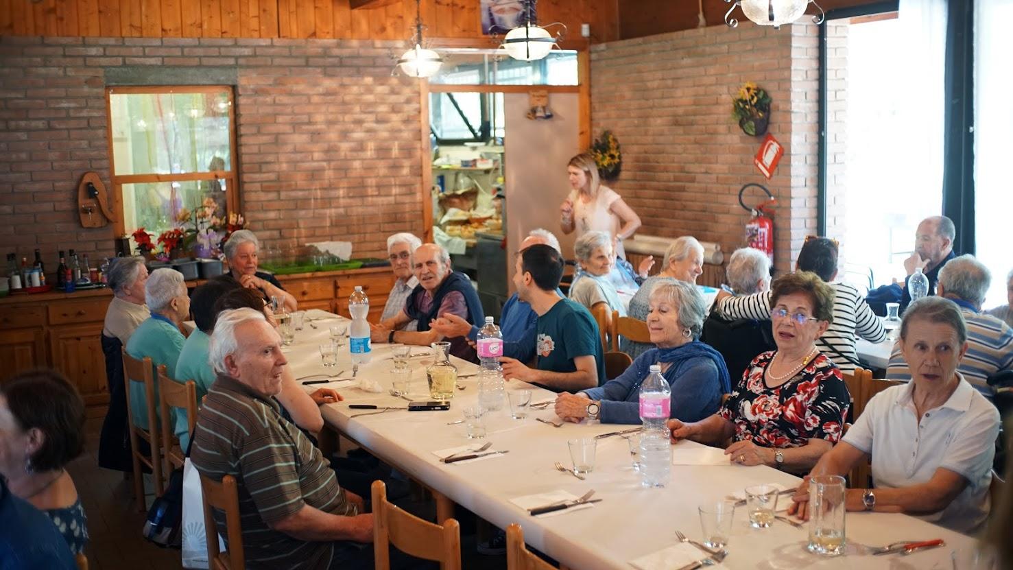Cena sociale ristorante Polisportiva Pontelungo Bologna